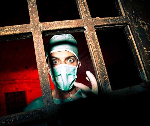 Psycho Surgeon - Escape Room Game in Bournemouth, Dorset